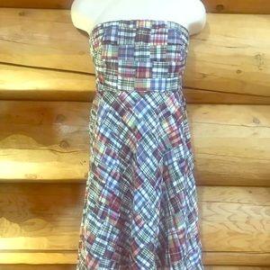 JCrew Madras Dress